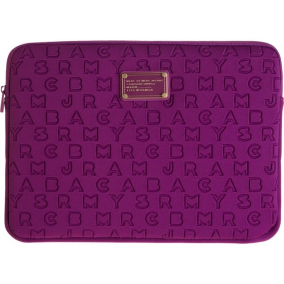 903d7fccaa Marc By Marc Jacobs Bags | Marc Jacobs Purple Laptop Bagcase | Poshmark